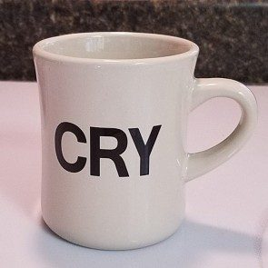 The Cry Diner Mug