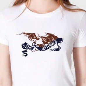 Women's White Eagle T