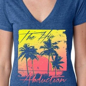 Women's Palm Trees Deep V
