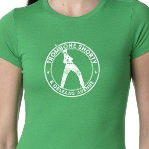 Women's Circle Logo T, Kelly Green
