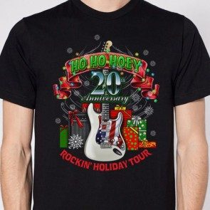 20th Anniversary Ho Ho Hoey Rockin' Holiday Tour T
