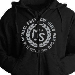 One Sided War Zip Hoodie