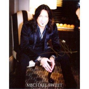 Michael Sweet Autographed 8x10 Photo