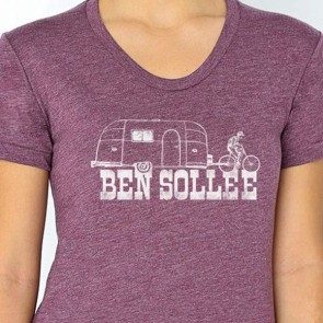 Women's Purple Camper Bike T