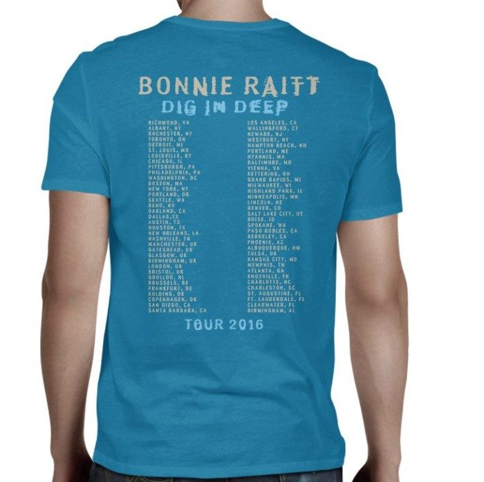 Dig In Deep Tour T, Teal