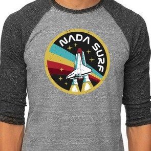 Nada Surf NASA Baseball T