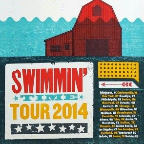 Swimmin' Time 2014 Tour Poster
