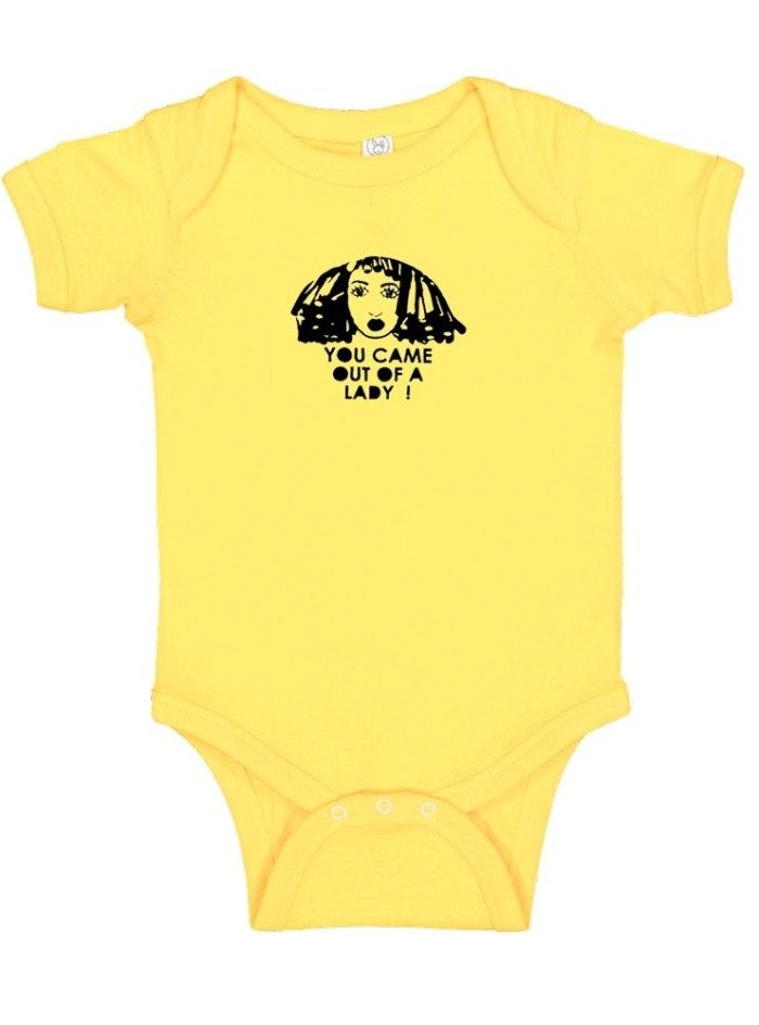 Came Out of a Lady Onesie, Yellow