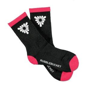 Rubblebucket Triangular Daisies Socks