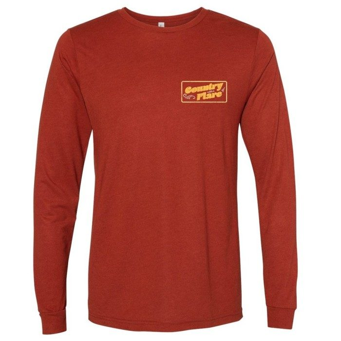 Bell Bottom Country Long Sleeve T