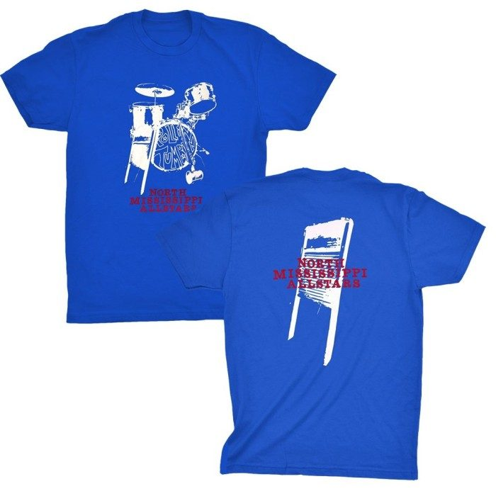 NMA Drums and Washboard T, Royal Blue
