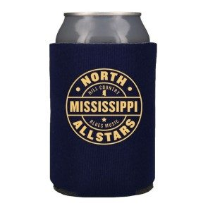 Hill Country Blues Music Koozie