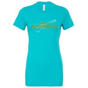 Women's NMA T, Turquoise