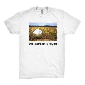 World Boogie Is Coming T, White