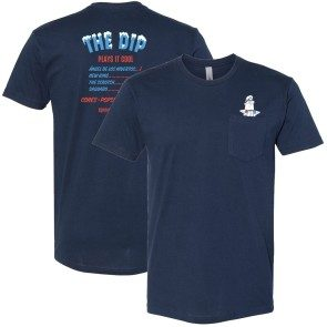 The Dip Plays It Cool Pocket T - Navy