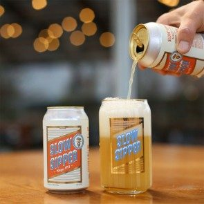 """The Dip x Aslan Brewing """"Slow Sipper"""" Glass Can"""