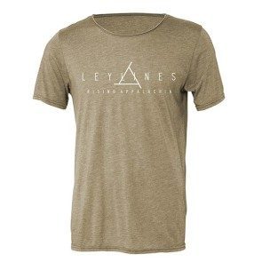 Leylines Tri-Blend Raw Neck T
