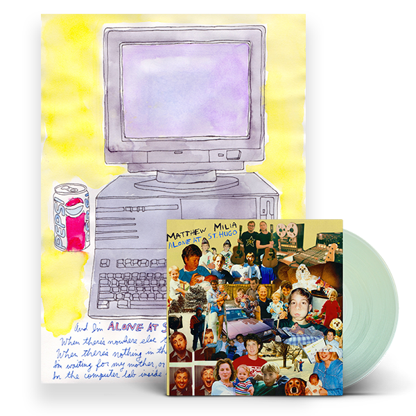 Alone at St.Hugo LP + Watercolor Bundle