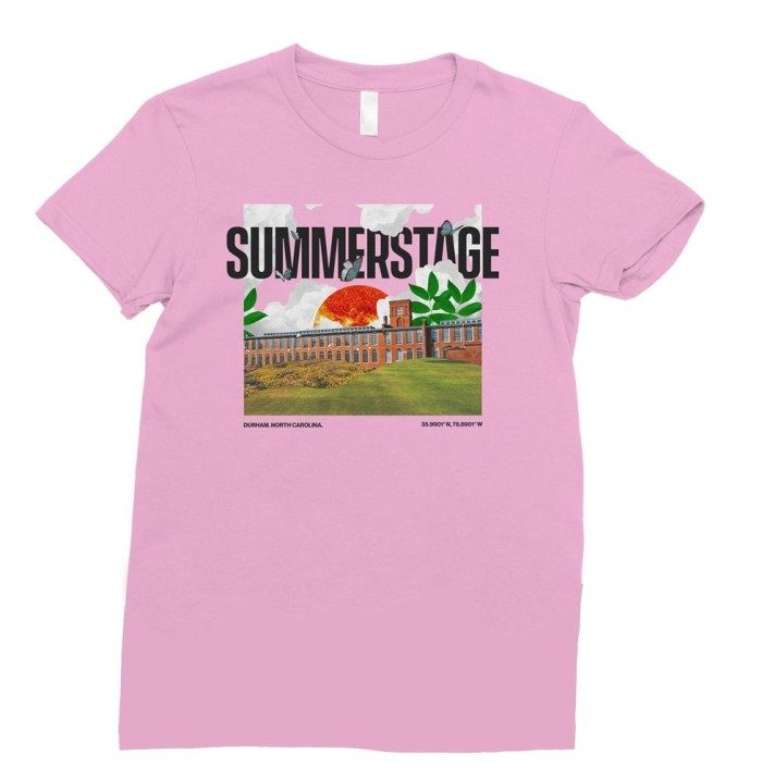 SummerStage T Version 1 Lilac
