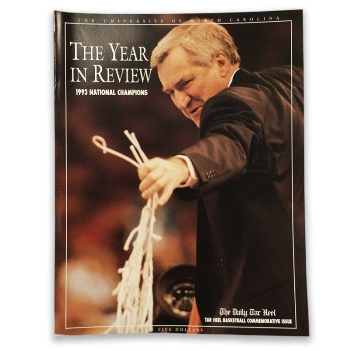 1993 National Championship Commemorative Paper