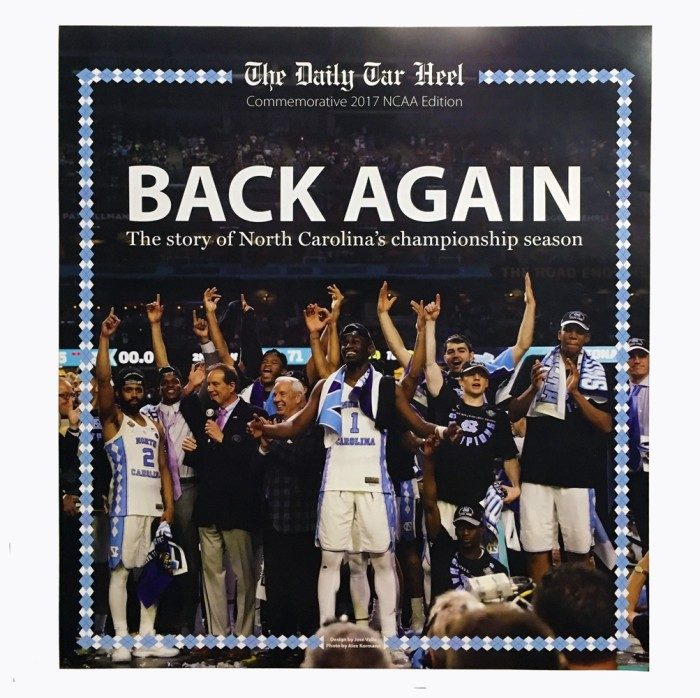 2017 Back Again Championship Poster