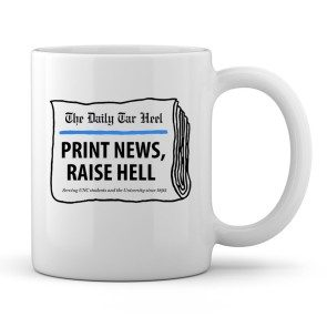 Print News, Raise Hell Coffee Mug