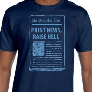 Print News, Raise Hell Short Sleeve T-shirt