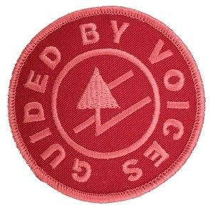 Rune Logo Patch, Red