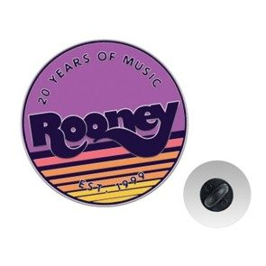 Rooney 20th Anniversary Enamel Pin