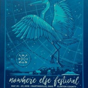 2018 Nowhere Else Festival Poster