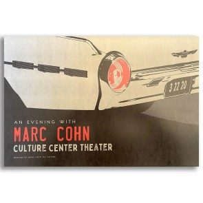 Poster: Culture Center Theater, March 22, 2020