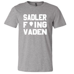 Sadler F'ing Vaden T Heather Grey