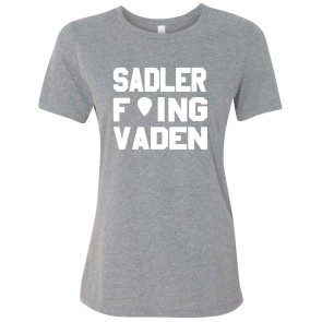 Women's Sadler F'ing Vaden T Heather Grey