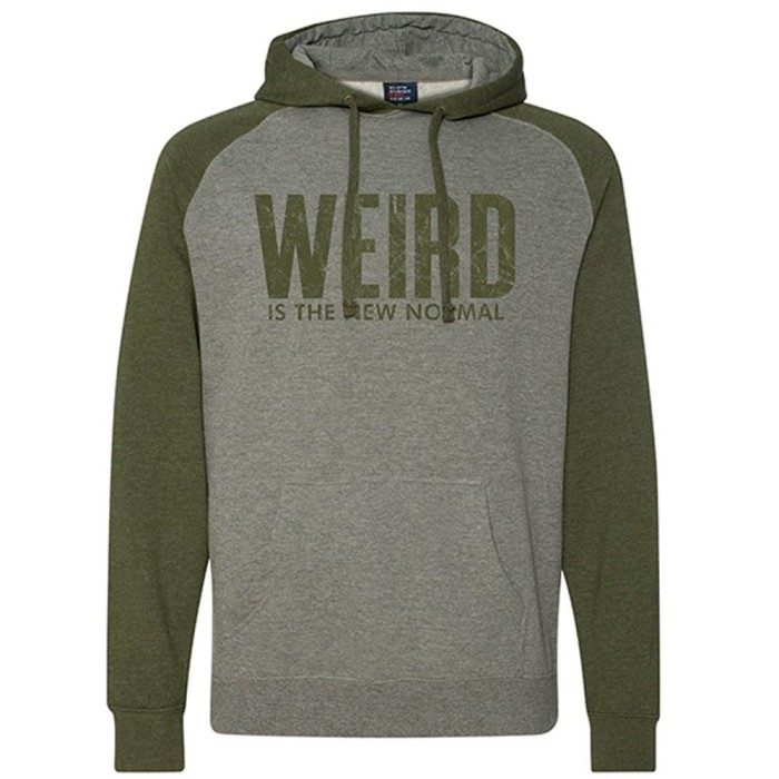 Weird Is The New Normal Unisex Pullover Hoodie