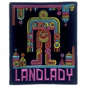 Landlady Deluxe Embroidered Patch