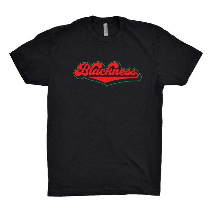 Blackness T, Black with Color Logo