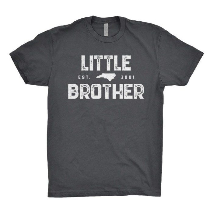 Little Brother Est 2001 T, Gray
