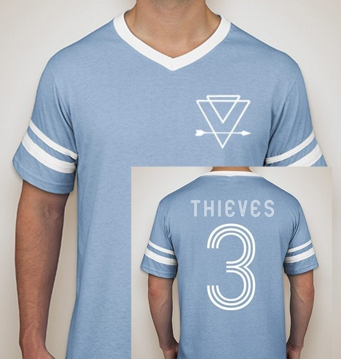 Thieves Striped Sleeve Jersey