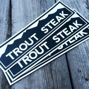 Trout Steak Revival Bumper Sticker