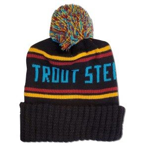 Trout Steak Revival Stocking Cap (Maroon/Gold/Teal)