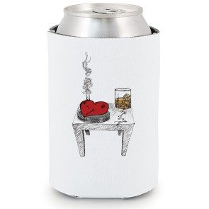 Ruby Red Ashtray Koozie