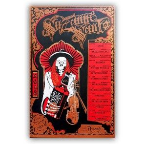 Suzanne Santo January 2018 Tour Poster