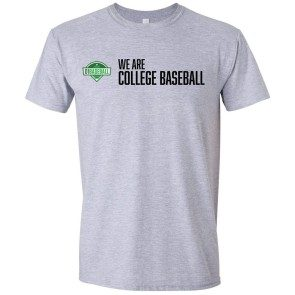 We Are College Baseball T-Shirt - Sport Grey