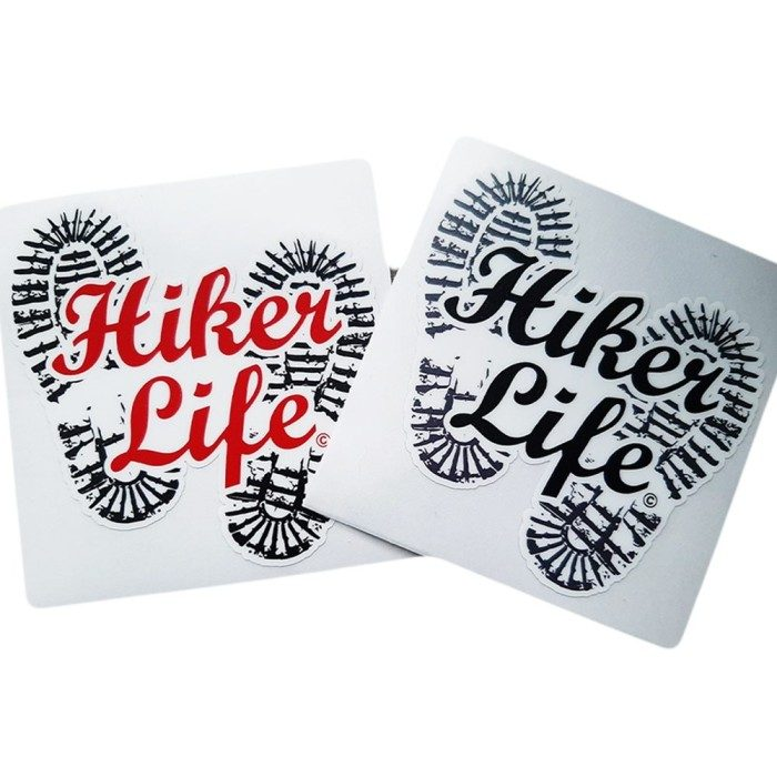 Hiker Life Sticker
