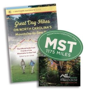 Gift Pack: Great Day Hikes, MST Sticker, and Donation to Friends