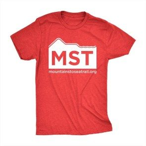 Mountains to Sea Trail T, Heather Red
