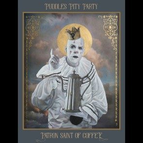 Patron Saint of Coffee Fine Art Print, Signed by Puddles