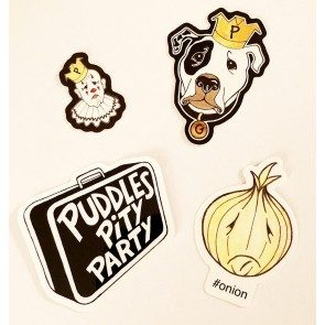 Puddles Sticker 4-Pack