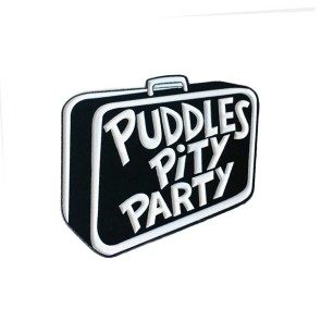 Puddles Suitcase Lapel Pin