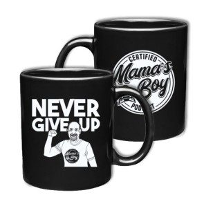 "Jimmy Mack's Limited Edition ""NEVER GIVE UP"" Mug"
